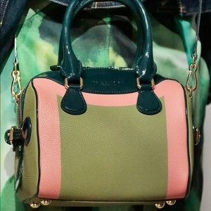 Burberry colorblock bee bag